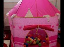 خيمة اطفال جديدة مع 50 طابة و 400 قطعة تشكيلية