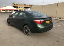For sale 2015 Green Corolla