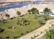 ارض للبيع باسوان عبارة عن مبني ومكان سياحي للاستثمار
