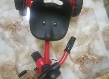 دراجه كهربائيه شحن ودراجه أخرى بحاله ممتازه