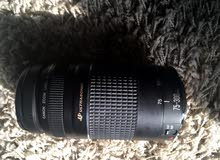 Canon 70D with lens