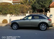 Automatic Beige Infiniti 2003 for sale