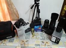 كاميرا كانون d750 غراض كامله واكثر من اللازم