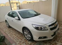 White Chevrolet Malibu 2013 for sale