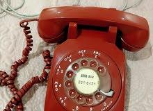 تلفون أمريكي اثري فينتاج من عام 1970 ميلادي.