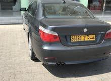Blue BMW 530 2008 for sale