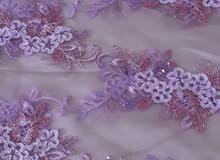 قماش فستان للبيع للإستفسار الاتصال على الرقم 0826571091