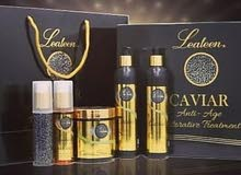 Golden caviar set to treat all types of hair