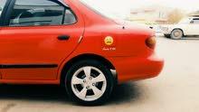 Red Hyundai Elantra 1999 for sale
