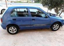 Blue Toyota Starlet 1998 for sale