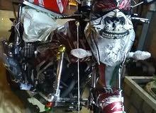 دراجة نارية  هندا كماليات مصرية