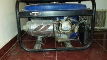 مولد للبيع بنزين النوع هومر شغال فل الفل القوه 3800