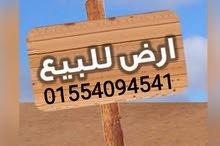 ارض علي طريق بلطيم كفر الشيخ مباشره