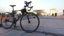 دراجة  هوائية المنيوم ممتازه مستعمله للبيع