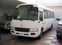toyota coaster for rent just as new fresh vehicle