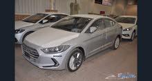 Renting Hyundai cars, Elantra 2017 for rent in Al Riyadh city