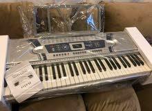 اورج بيانو جديد بالكرتونه 290 احن مع نغمات كامله فخم جدا ومكفول كامل