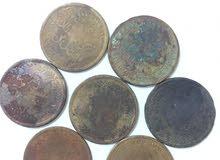 عملات معدنيه للسلطان تركي بن فيصل لعام 1315 هجري ..ربع انه