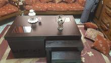 طاولات وسط 5قطع مبلس قشرة بلوط خشب ماليزي مكفول بسعر 37شمل توصل