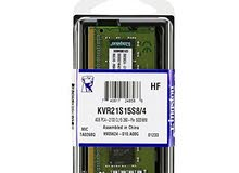 مطلوب RAM  DDR4 لابتوب