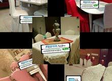 تلبيسات الكنب وكراسي السفرة صناعة تركية