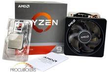 AMD Ryzen 9 3900X معالج بالكرتون بحاله جديده لا اقبل التفاوض او غيره الدفع كاش فقط ^^