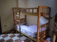 سرير دورين خشب زان بسعر حصري