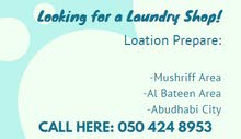 Im looking for a Laundry Shop