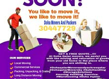 Doha movers Packers carpenter call 30447729