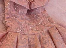 فستان سندريلا ملبوس مره وحده