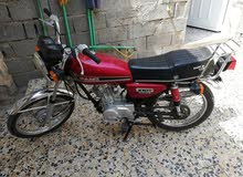 Honda motorbike made in 2017