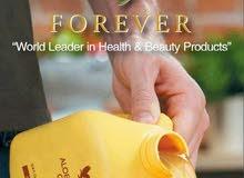منتجات شركة فوريفر الامريكية العناية بالبشرة ومكملات غذائية