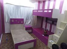 نعمل غرف نوم أطفال جلس أو مناميل او ماستر