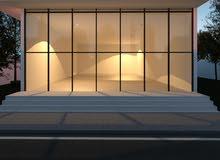 مطلوب ايجار صالة تبداء من 120 متر مربع الى 200 متر مربع.