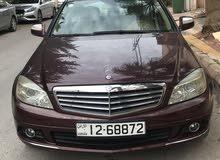 For sale Mercedes Benz C 200 car in Amman