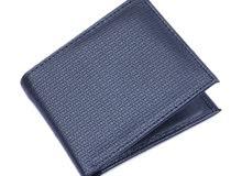 Men black wallet محفظة رجالية سوداء