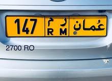 147 RM للبيع 2700