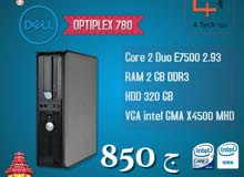 جهاز ((Dell optiplex 780)) بـ امكانيات وسعر ممتاز