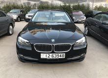 BMW 523 اسود 2011