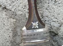 خنجر جديدة بصياغة تراثية أصيلة ونصلة شديدة وقرن غزال(جاموس) نوعية ممتازة جدا