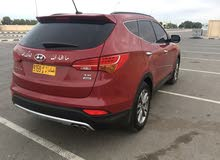 Red Hyundai Santa Fe 2013 for sale