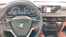BMW مديل 2016 x6 خليجي قمه بنضافه