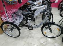 دراجات ثلاث كفرات جميع المقاسات