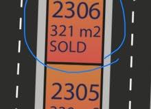 للبيع قطعة أرض تجارية على شارعين بسعر 180 الف فقط تقسيط على 5 سنوات