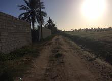 قطعة أرض سكنية 525متر للبيع في بروية فتحة اشبيل حموده تبعد علي الساحيلي 600متر