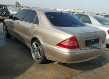Mercedes S500 قطع غيار 1999