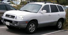 White Hyundai Santa Fe 2004 for sale