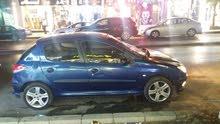 Blue Peugeot 206 2004 for sale