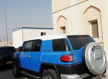Blue Toyota FJ Cruiser 2008 for sale