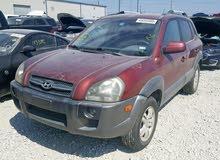 Hyundai Tucson 2008 For sale - Maroon color